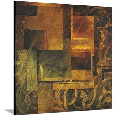Visual Patterns I-Linda Thompson-Stretched Canvas Print
