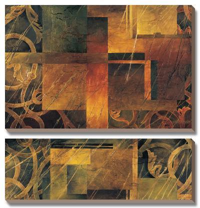 Visual Patterns II-Linda Thompson-Canvas Art Set