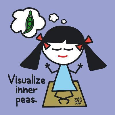 Visualize Inner Peas-Todd Goldman-Art Print