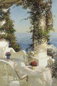 Positano Seascape by Vitali Bondarenko