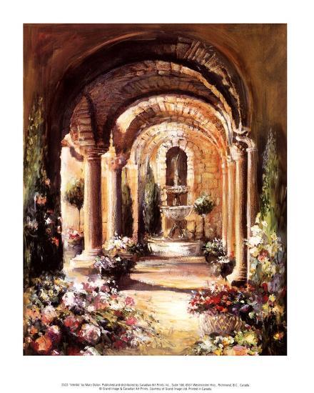 Viterbo-Mary Dulon-Art Print