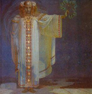 Prophetesse Libuse by Vitezlav Karel Masek