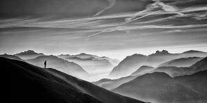 Hunter in the Fog by Vito Guarino