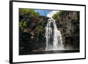 Salto 80M Waterfall in Chapada Dos Veadeiros National Park, Goias, Brazil by Vitor Marigo