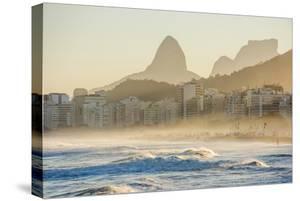 Sunset Seen from Leme Beach Just next to Copacabana, Rio De Janeiro, Brazil by Vitor Marigo