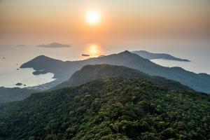 Trekking in Ilha Grande to Pico Do Papagaio Mountain, Costa Verde South of Rio De Janeiro, Brazil by Vitor Marigo