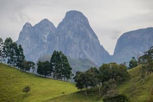 Tres Picos Mountain in Tres Picos State Park, Rio De Janeiro, Brazil by Vitor Marigo