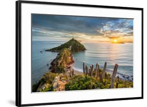View from Ponta Do Pai Vitorio during Sunrise in Rasa Beach, Armacao Dos Buzios, Rio De Janeiro, Br by Vitor Marigo