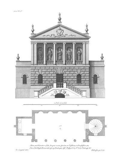 Vitruvius Britannicus 3, Colen Campbell-Porter Design-Premium Giclee Print