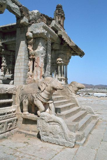 Vitthala Temple, Hampi, Karnataka, India-Vivienne Sharp-Photographic Print