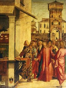Christ's Calling of St Matthew by Vittore Carpaccio