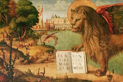 Detail of the Lion of St. Mark, 1516