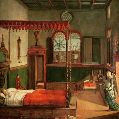 Dream of St.Ursula, 1495