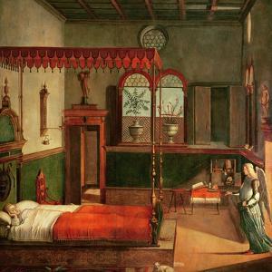 Dream of St.Ursula, 1495 by Vittore Carpaccio