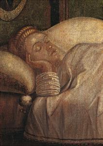 Legend of St Ursula. the Dream of Ursula by Vittore Carpaccio