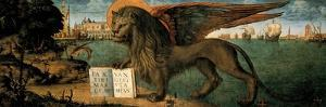 Lion of St. Mark by Vittore Carpaccio