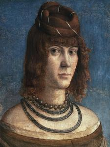 Portrait of Courtesan by Vittore Carpaccio