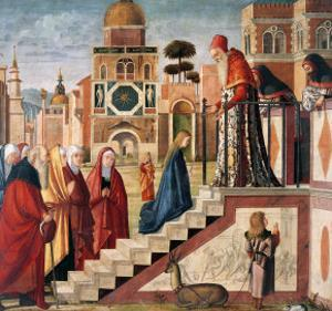 Presentation of Mary in the Temple by Vittore Carpaccio