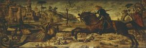 St George and Dragon by Vittore Carpaccio