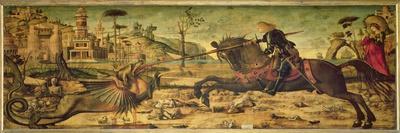 St. George Killing the Dragon, 1502-07