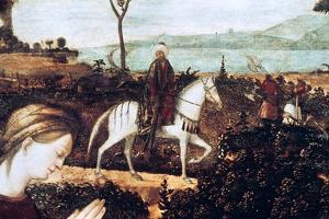 Ste Famille, Detail by Vittore Carpaccio