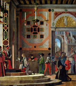The Departure of the English Ambassadors, from the St. Ursula Cycle, 1498 by Vittore Carpaccio
