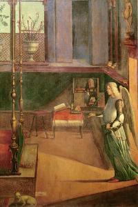 The Dream of Saint Ursula, 1495 by Vittore Carpaccio