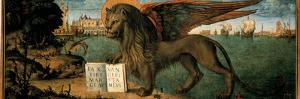 The Lion of St Mark by Vittore Carpaccio