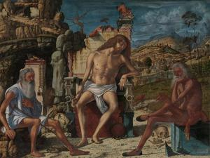 The Meditation on the Passion, c.1490 by Vittore Carpaccio
