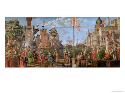The Meeting of Etherius and Ursula and the Departure of the Pilgrims