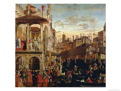 The Miracle of the Relic of the True Cross on the Rialto Bridge, 1494