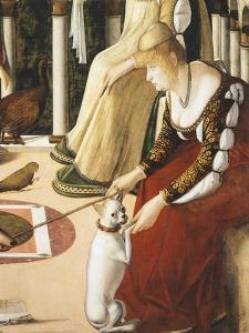 Two Venetian Ladies, 1490-1495 by Vittore Carpaccio