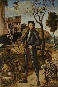 Young Knight in a Landscape, 1510 by Vittore Carpaccio