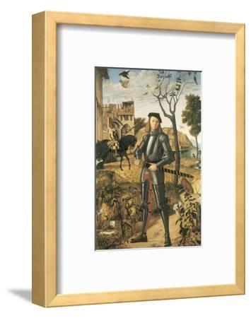 Young Knight In A Landscape: Francesco della Rovere