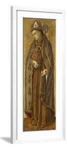 Saint Louis of France by Vittore Crivelli