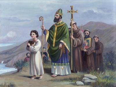 Saint Patrick Journeys to Tara
