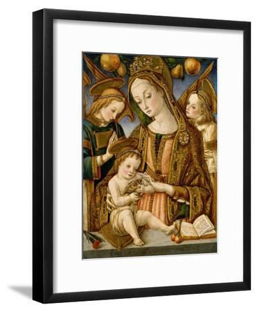 Madonna and Child with Two Angels, c.1481-82