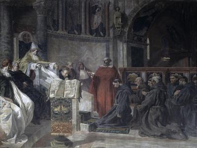 Saint Francis Before Pope Innocent the Third