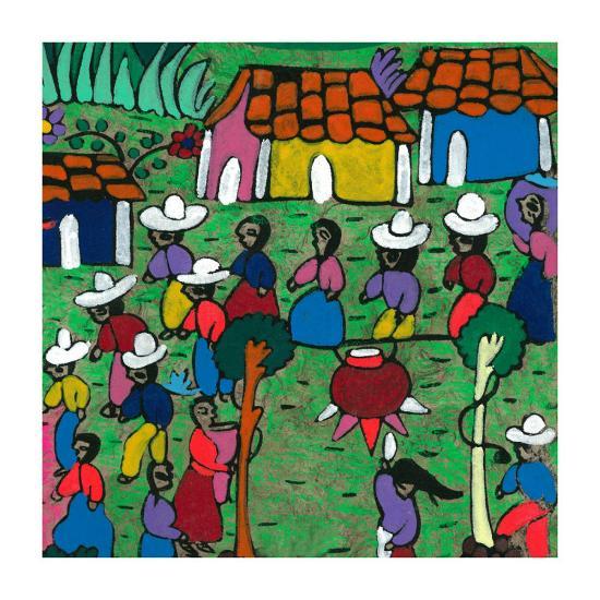 Viva La Fiesta II--Art Print