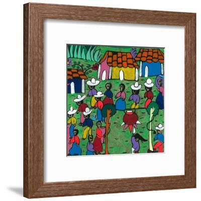 Viva La Fiesta II--Framed Art Print