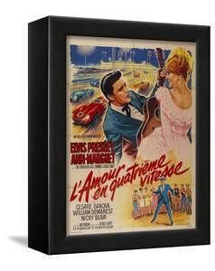 Viva Las Vegas, French Movie Poster, 1964