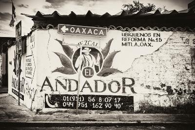 ¡Viva Mexico! B&W Collection - Andador Oaxaca-Philippe Hugonnard-Photographic Print