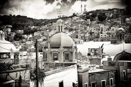 ¡Viva Mexico! B&W Collection - Guanajuato III-Philippe Hugonnard-Photographic Print