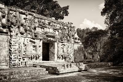 ?Viva Mexico! B&W Collection - Hochob Mayan Pyramids IV - Campeche-Philippe Hugonnard-Photographic Print