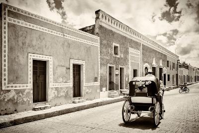 ?Viva Mexico! B&W Collection - Izamal the Yellow City-Philippe Hugonnard-Photographic Print