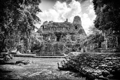 ?Viva Mexico! B&W Collection - Mayan Ruins II-Philippe Hugonnard-Photographic Print