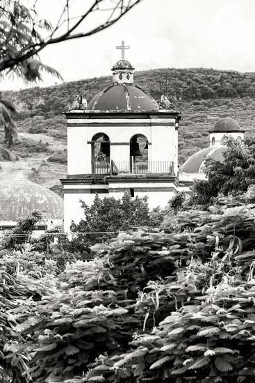 ?Viva Mexico! B&W Collection - Mexican Church II-Philippe Hugonnard-Photographic Print