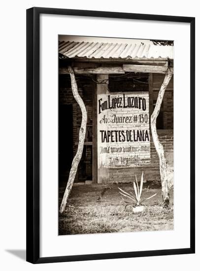 ¡Viva Mexico! B&W Collection - Mexican Crafts IV-Philippe Hugonnard-Framed Photographic Print