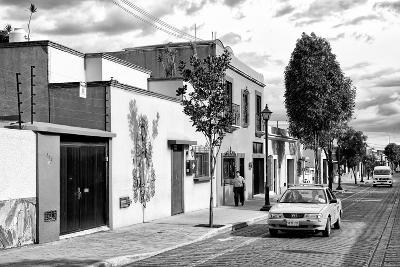 ¡Viva Mexico! B&W Collection - Mexican Street Oaxaca III-Philippe Hugonnard-Photographic Print