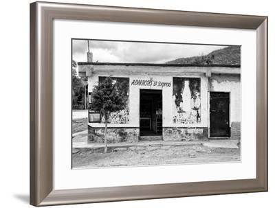 "¡Viva Mexico! B&W Collection - Mexican Supermarket ""La Sorpresa""-Philippe Hugonnard-Framed Photographic Print"